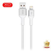 XO สายชาร์จ NB30 TPE Aluminium Alloy USB Lightning Cable ยาว 1 m - White