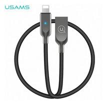 สายชาร์จ USAMS รุ่น US-SJ154 Lightning Cable U-Sun Series 1.2m - Black