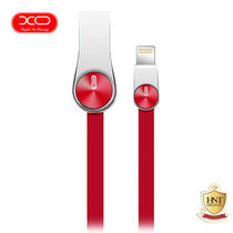 XO สายชาร์จ Lightning รุ่น NB20 Grain Zinc Alloy Data Cable - Red
