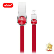 XO สายชาร์จ Micro-USB รุ่น NB20 Grain Zinc Alloy Data Cable - Red