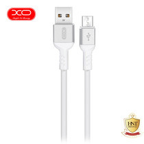 XO สายชาร์จ NB30 TPE Aluminium Alloy USB Micro Cable ยาว 1 m - White