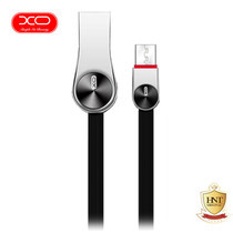 XO สายชาร์จ Micro-USB รุ่น NB20 Grain Zinc Alloy Data Cable - Black