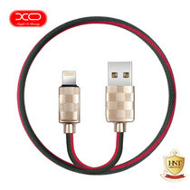 XO สายชาร์จ Lightning USB Cable รุ่น NB34 for iPhone - Red