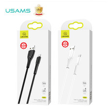 สายชาร์จ Usams รุ่น US-SJ365 U35 พอร์ต Micro USB รองรับระบบ Android ป้องกันการหักงอของสาย ชาร์จเร็วด้วยกระแสไฟออกสูงสุด 2A