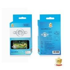 HNT ปุ่มจอยเกมส์มือถือ รุ่น HJ-02 Acrylic Joystick พร้อมถุงผ้าสุดเท่ สามารถเล่นได้ทั้ง ROV, PubG, ROS หรือเกมส์อื่นๆ