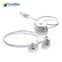 Travel Blue - หูฟังพร้อมฟังก์ชั่นม้วนสายได้ รุ่น Retractable 552