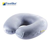 Travel Blue - หมอนรองคอ รุ่น Memory Foam 232 - Blue/Grey