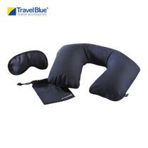 Travel Blue - ชุดหมอนรองคอเป่าลม พร้อมที่ปิดตา รุ่น Sleep Set 223