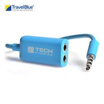 Travel Blue - Adaptor แบ่งหูฟัง รุ่น Dual Music 562