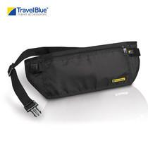 Travel Blue - กระเป๋าคาดเอว Money Belt รุ่น 114 RFID