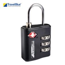 Travel Blue - แม่กุญแจระบบ Password รุ่น TSA Combi 036