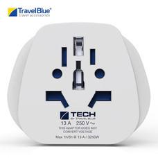 Travel Blue อะแดปเตอร์ปลั๊กไฟ World to UK Travel Adaptor รุ่น 904