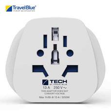 Travel Blue อะแดปเตอร์ปลั๊กไฟ World to America (USA) Travel Adaptor รุ่น 912