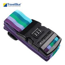 Travel Blue - สายรัดกระเป๋าเดินทางพร้อม Password (2x80 นิ้ว) รุ่น 047