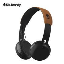 หูฟังบลูทูธ Skullcandy Grind BT Black/Black/Tan