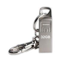 Strontium Ammo Silver USB 2.0 Flash Drive 32 GB