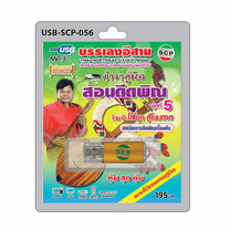 USB MP3 ตำราคู่มือ สอนดีดพิณ ชุดที่ 5