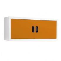 KIOSK-MAX-011 ตู้แขวนวางหนังสือบานเปิด รุ่น Maxbook สี OR-Orange