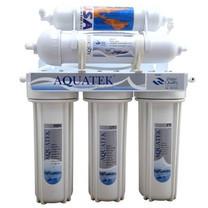 Aquatek เครื่องกรองน้ำ แบบ 5 ขั้นตอน ระบบ UF สีเงิน