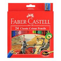 Faber Castell 24 Classic Colour Pencils in Paper Box