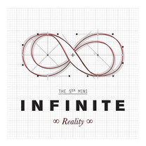 CD INFINITE The 5th mini Album Reality (Local)