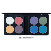 MTI Eyeshadow Palette Sign Collection 13.6 ก. #S3 สีโทนน้ำเงิน-ม่วง