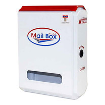 HANABISHI ตู้รับจดหมาย LT-08W สีขาว คละลาย
