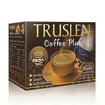 TRUSLEN Coffee Plus ทรูสเลน ค็อฟฟี่ พลัส กาแฟสำเร็จรูปเพื่อสุขภาพ รสชาติเข้มข้น บรรจุ 10 ซอง 1 กล่อง