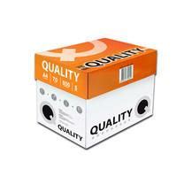 Quality กระดาษถ่ายเอกสาร A4 70 แกรม ส้ม