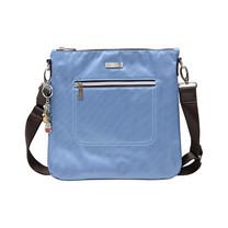 Huskies กระเป๋าสะพายแฟชั่น / กระเป๋าคลัทช์ รุ่น HK02-686 BE สีฟ้า