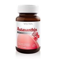 Vistra Astaxanthin Plus Vitamin E แอสตาแซนธิน 4 มก