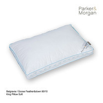 Parker & Morgan Belgravia Goose Feather & Down 90/10 Pillow King ไซส์(นุ่มมาก)