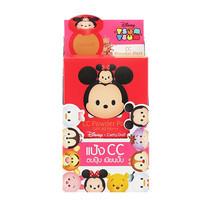 Cathy Doll Disney Tsum Tsum CC Powder Pact 4.5 ก. #25 Honey Beige