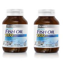 BEWEL น้ำมันปลาแซลลมอน 1000 มก. พลัสวิตามินอี