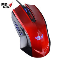 MD-TECH Optical Mouse USB MD-98 Red
