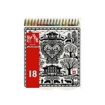 Caran D'Ache ดินสอสีระบายน้ำ REDBOX 18 สี
