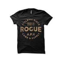Rogue Men T-Shirt MST-17 Black SizeXXL