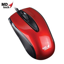 MD-TECH Optical Mouse USB MD-10 Red