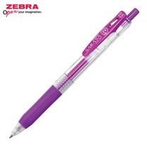 Zebra ปากกาหมึกเจล Sarasa Clip 0.5 มม. JJ15-PU หมึกสีม่วง (12 ด้าม/กล่อง)