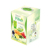 Clares Fiber Brand Lemon Honey Flavour Beverage Powder 10 ซอง/กล่อง