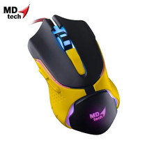 MD-TECH Optical Mouse USB BC-86 Yellow