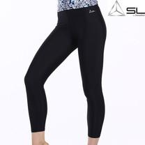 SLกางเกงออกกำลังกาย สีดำ L