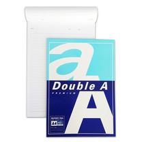 Double A สมุดรายงาน A4 80 แกรม 40 แผ่น/แพ็ก มีเส้น (แพ็ก 12 เล่ม)