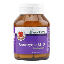 Morikami ซื้อ 1 แถม 1 Coenzyme Q10 500 mก. โคเอนไซม์ คิวเท็น 500 มก. บรรจุ 30 แคปซูล