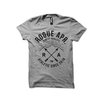 Rogue Men T-Shirt MST-18 Gray SizeL