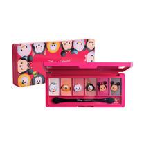 Cathy Doll Disney Tsum Tsum Eyeshadow Palette (6 x 1 ก.) #01 Rose Princess