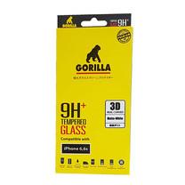 Gorilla Tempered Glass i6 3D Real Curve WH Matte