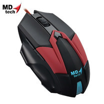 MD-TECH Optical Mouse USB BC-99 Black/Red