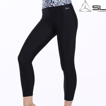 SLกางเกงออกกำลังกาย สีดำ E (2XL)