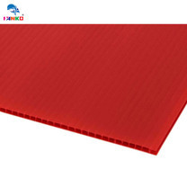 PANKO แผ่นฟิวเจอร์บอร์ด 65 x 80 ซม. หนา 3 มม. สีแดง